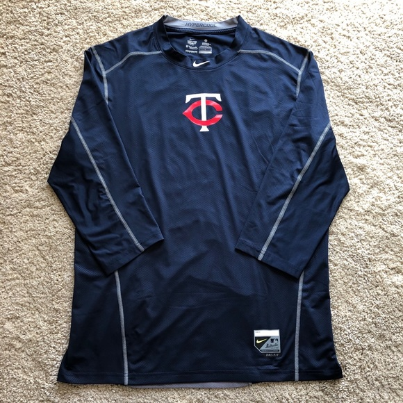 81d22c2f Nike Shirts | Minnesota Twins Mlb Pro Combat Shirt | Poshmark